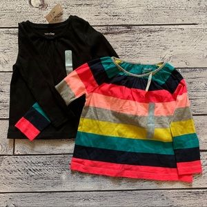 NWT two baby gap tops